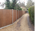 Panel fencing, Picket fencing, repairs or new, every type of fencing constructed with care and quality by Elliott Landscapes in London